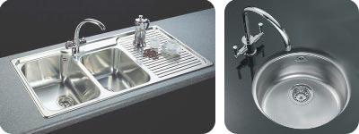 Inset (left) U0026 Undermounted Sinks