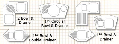 Corner Sink Bathroom on Sink Materials How To Fit A Kitchen Sink Introduction To Kitchen Sinks