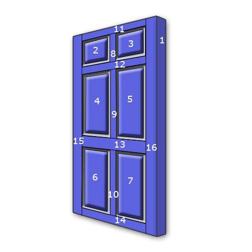 Painting Panelled Doors Simplifydiy Diy And Home